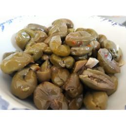 Olive schiacciate calabresi...
