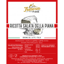 Ricotta Salata - Fattoria...