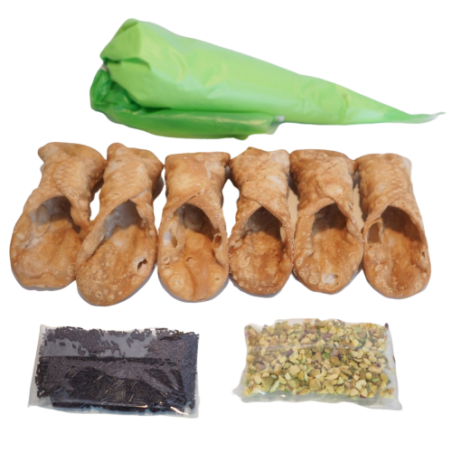 Kit 4 o 8 Cannoli Calabresi - Cannolo 100% Made In Calabria