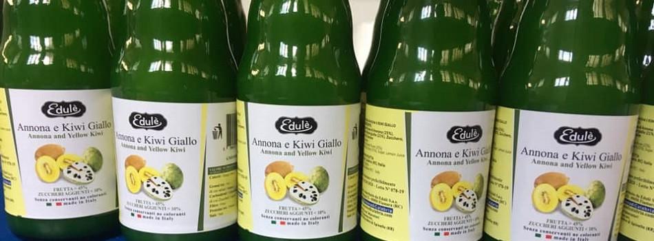 Succo Annona Kiwi Gialla
